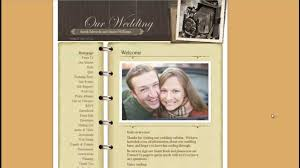 free wedding websites with free wedding website create a free website and online registry