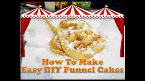 kid chef darie easy diy state fair funnel cakes youtube