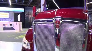 paccar kenworth kenworth t680 red and paccar engine mx 13 youtube
