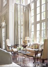 double window treatments 3 window treatment options for double height doors