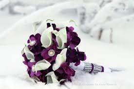 wedding flowers purple brooch bouquet wedding flowers bridal broach bouquet white calla
