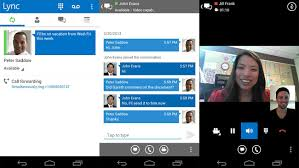 microsoft lync 2013 for android microsoft lync 2013 lands at play with brand new ui