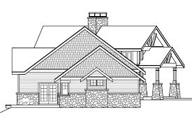 View Lot House Plans Lodge Style House Plans Silverton 30 757 Associated Designs