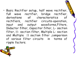 unit ii rectifiers and filters basic rectifier setup half wave