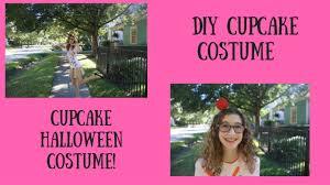 diy cupcake halloween costume youtube