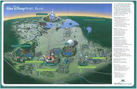 Disney Resorts Map Walt Disney World Resort Map Map Foto Von Fonz Fans Teilen