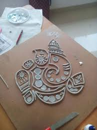 clay mural tutorial indian clay work indian wall decor clay cover photo