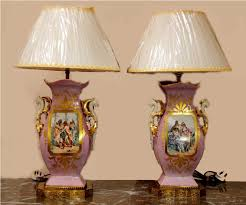 Vintage Table Lamp Shades Antique Table Lamps With Shades Antique Table Lamps For Living
