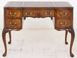antique style writing desk walnut queen anne style writing desk antiques atlas within queen