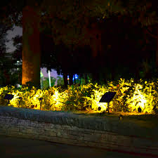 2 lamp u2013 outdoor solar powered landscape lighting u2013 modern outdoor