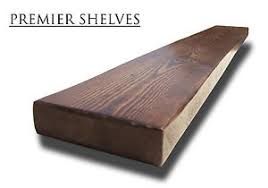 Rustic Book Shelves by Reclaimed Solid Wooden Floating Shelves Rustic Book Shelf 6 5