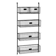 Wall Shelf Unit Rafael Metal Wall Shelf Unit H 125cm Maisons Du Monde