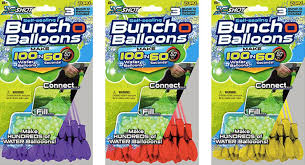 bunch balloons you can buy that magic 100 water balloons in a minute rig soon