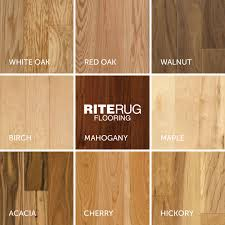 wood species chart identify your favorite look