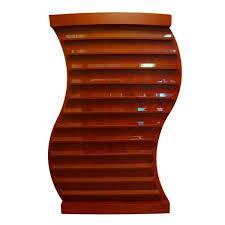 curved shaped nail polish rack rack14 2 colors salons usa