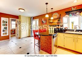 what color cabinets with beige tile warm colors cozy kitchen room