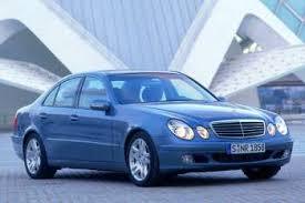 2002 mercedes e class mercedes e class 2002 2006 models 4 door sedan