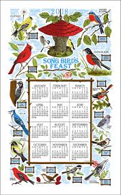 2018 kay dee calendar towel songbird fest