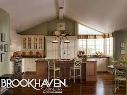 Cape Cod Kitchen Designs by Brookhaven Cabinetry Designer Collection Including Wood Mode