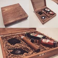 groomsmen usher best man rustic cigar gift personalised