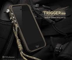 the trigger iphone 5 case tactile edition gadgetsin