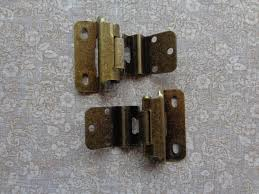 3 8 overlay partial wrap cabinet hinges 6 pair 12 hinges partial wrap self closing cabinet hinge 3 8 inset