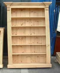 Classic Bookshelves - irish made pine furniture any design and finish we can make it
