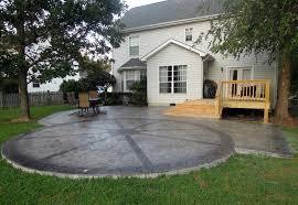 Concrete Patio Designs Sted Concrete Design Ideas Viewzzee Info Viewzzee Info