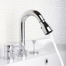 designer bathroom fixtures designer pull out widespread modern bathroom faucets
