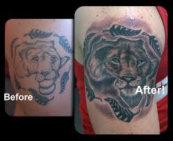 africa tattoo rework by steve malley tattoonow