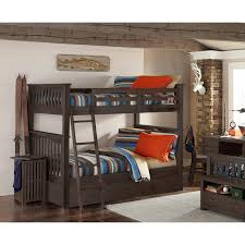 NE Kids Highlands Harper Twin Over Full Bunk Bed Hayneedle - Ne kids bunk beds