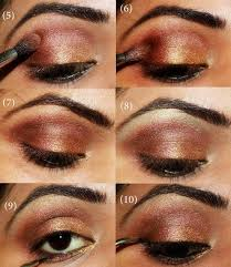 tutorials step by for bridal eye makeup is realy a difficult fun but we make it easy to help you