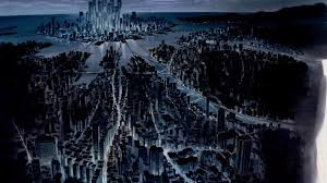 Cityscape Wallpaper by Anime Ghost In The Shell Cityscape Wallpapers Hd Desktop And