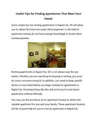 apartment needs useful tips for finding apartments that meet your needs by diana