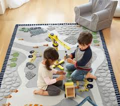 Pottery Barn Rugs Kids by Construction Rug Pottery Barn Kids