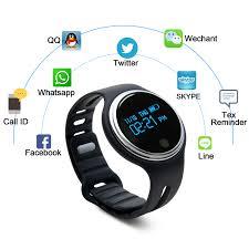 fitness tracker waterproof watch smart wrist band w touch screen