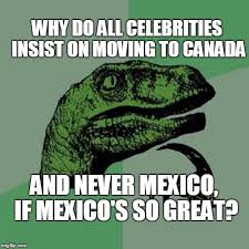 Moving Pictures Meme - a question for the ages regarding politically angered celebrities