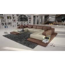 grand canape d angle cuir grand canapé d angle cuir contemporain sallini 1 749 00