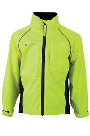 hi vis cycling jacket mountain warehouse adrenaline kids iso viz fluorescent cycling