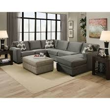 Rugs For Sectional Sofa by Furniture Grey U Shaped Sectional Sofa With Nice Ottoman And Rug