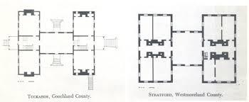 h plan of tuckahoe plantation goochland county virginia homes