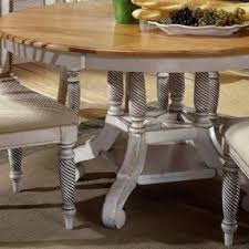 Round Oval Dining Table Foter - Antique white oval pedestal dining table