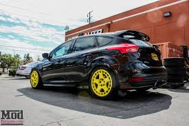 ford focus st modded mp275 ford focus st cat back exhaust by milltek install