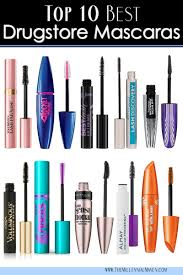 top 10 best drugstore mascaras all types for all seasons the