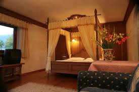 romantic room romantic room with four poster bed hotel rosengarten toblach