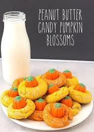 blossoms candy peanut butter candy pumpkin blossoms