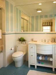 Small Blue Bathrooms Bold Bathroom Tile Designs Decorating And Design Blog Hgtv Sunny
