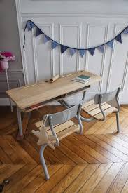 pupitre de bureau pupitre vintage bureau chambre enfant fanion parquet