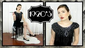1920 u0027s fashion trends through the decades youtube