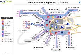 Detroit Metro Airport Map Miami Map Maps Miami Florida Usa